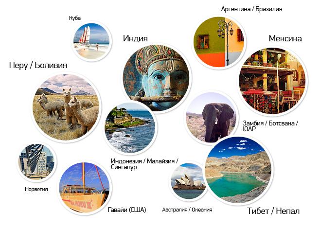 Сергей Сухов - лучшие путешествия