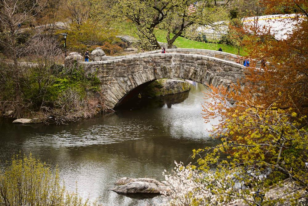 Весенний Нью-Йорк