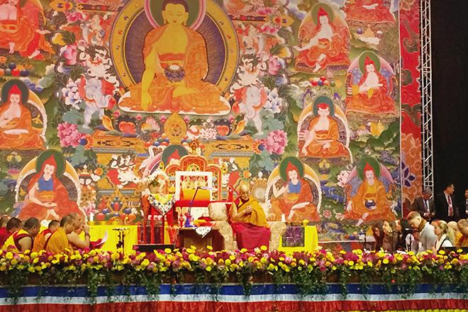 Далай-лама Рига